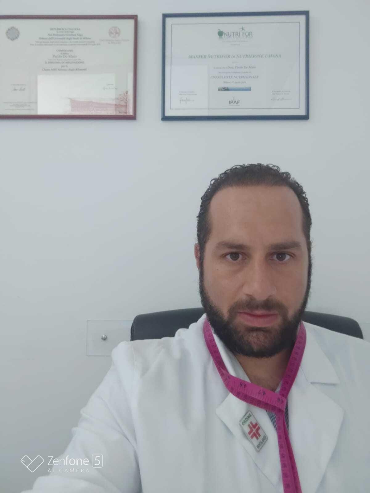 In forma con la consapevolezza grazie al Dottor De Maio - Paolo De Maio - Biologo nutrizionista in Varese