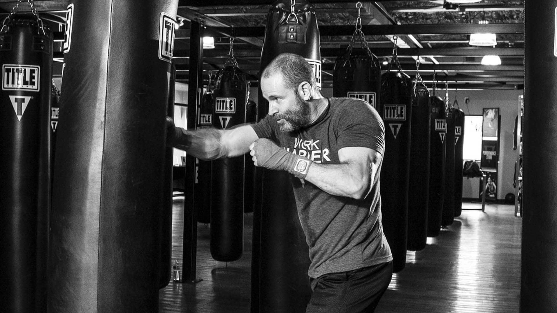 allenamento dietetico di boxe