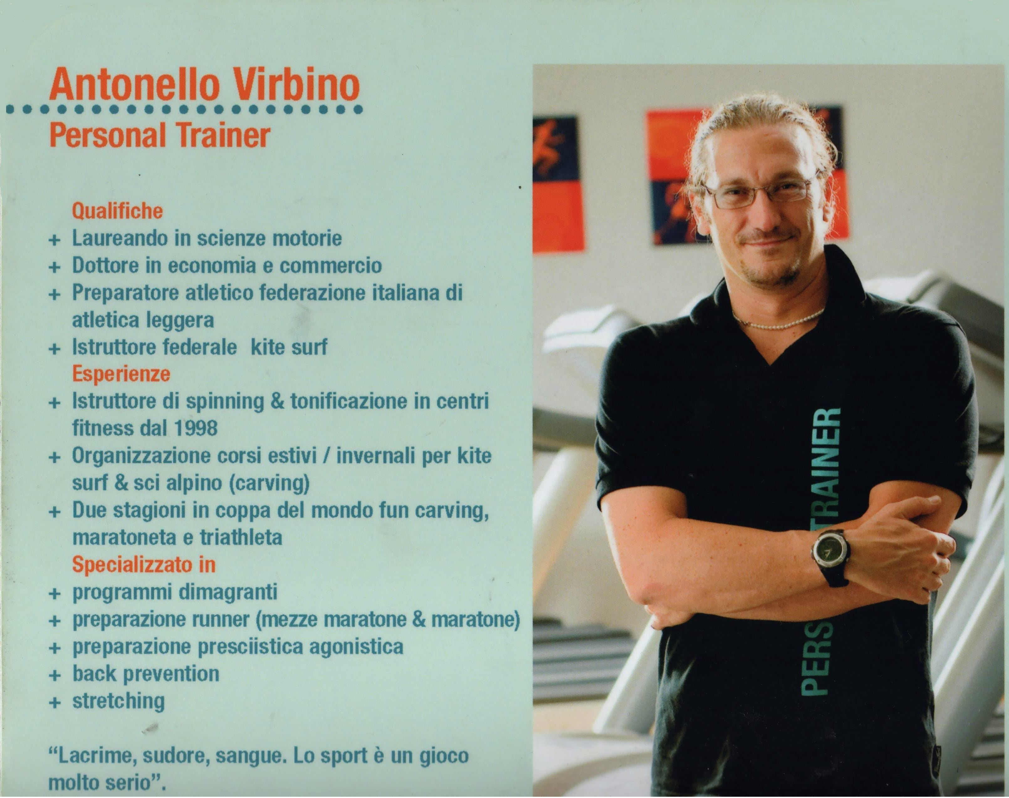 perdere peso my personal trainer